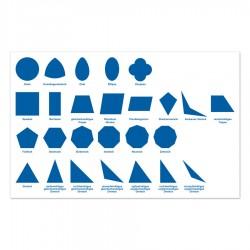 Geometrische Kommode - Kontrollkarte