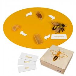 Biene: Kunststoff-Figuren im Kasten