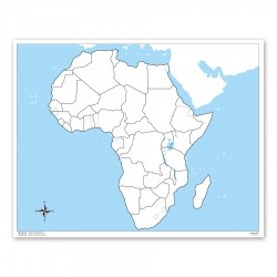 Afrika, werkkaart