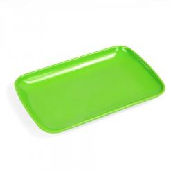 Aanbiedingsblaadje, kunststof, groen, M