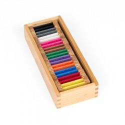 Kleurspoelen, set 2, zijde