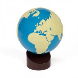 Globe land en water