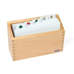 Kasten für Kopiervorlagen: Botanie