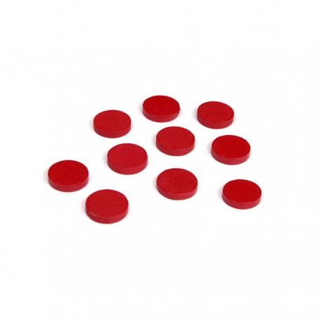 Holzchips, rot (100)